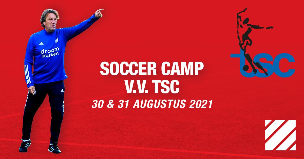 Feyenoord Soccer Camp bij TSC op 30 en 31 augustus