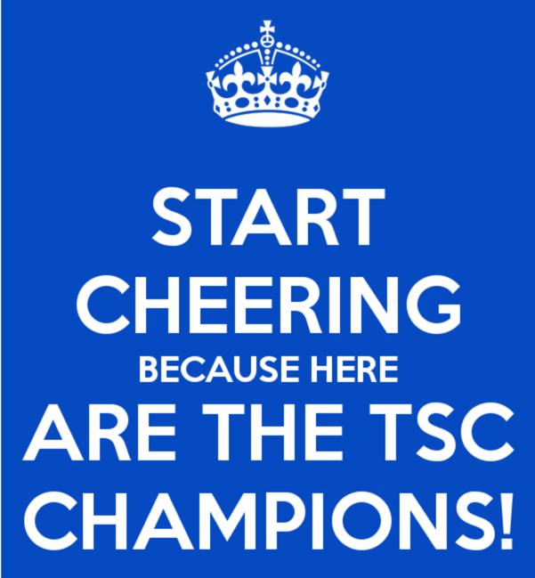 TSC Najaarskampioenen!