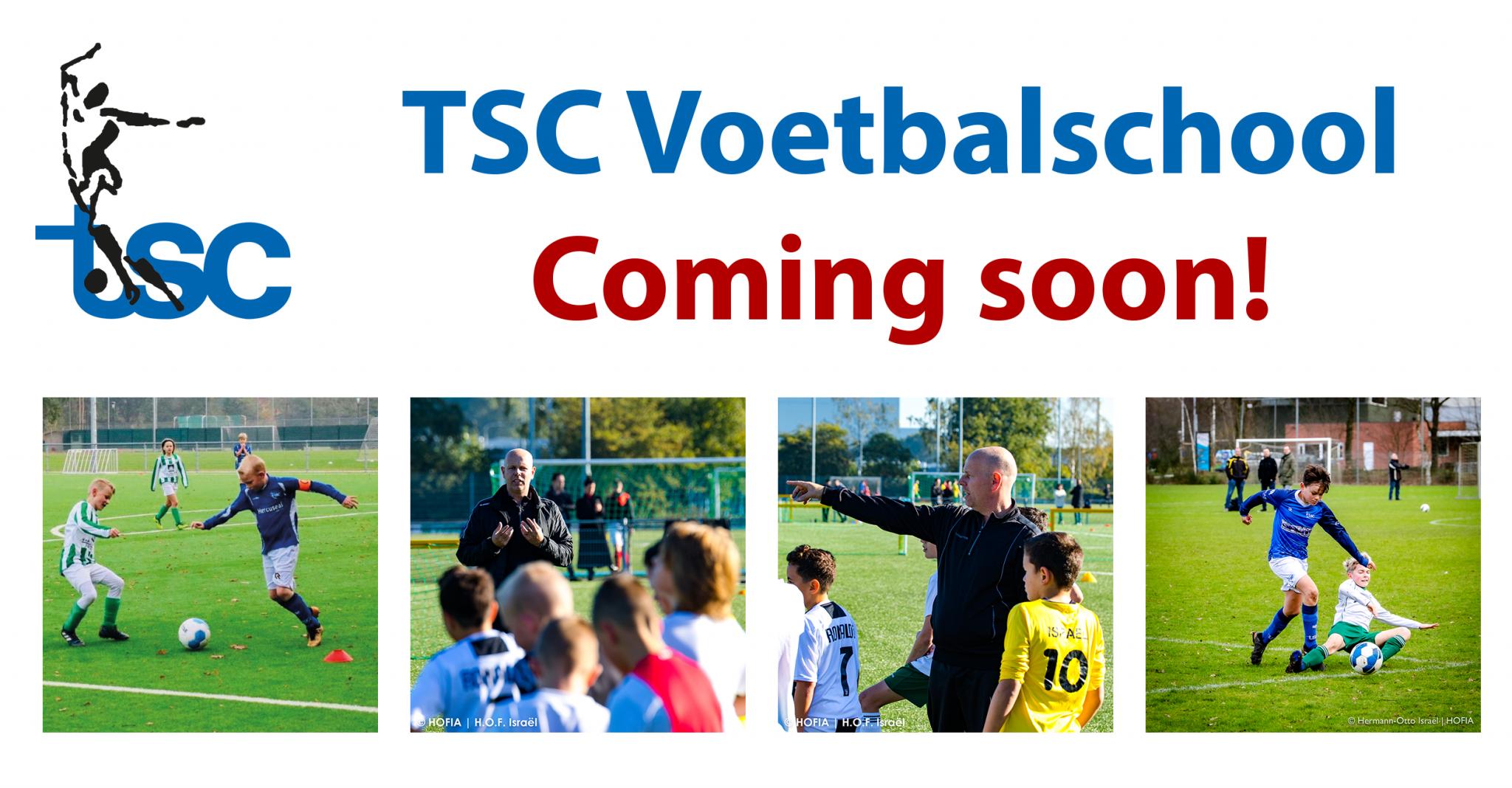 TSC start haar eigen voetbalschool voor TSC leden JO7-JO15
