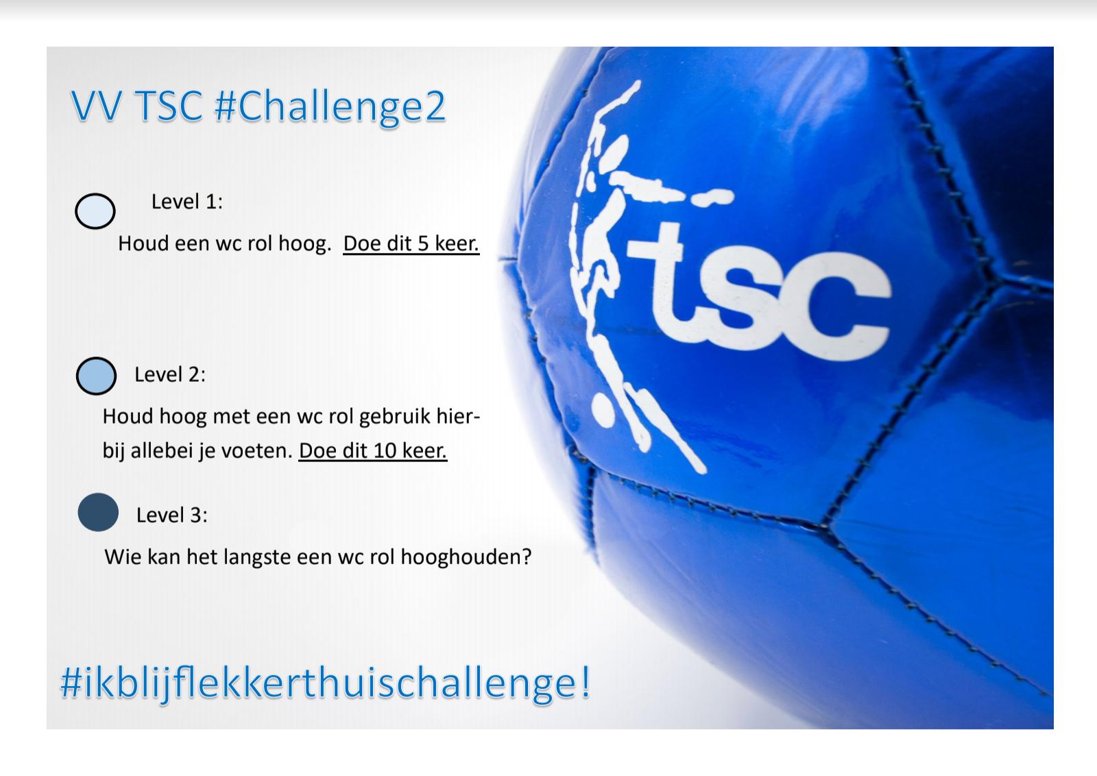 TSC #ikblijflekkerthuis #Challenge