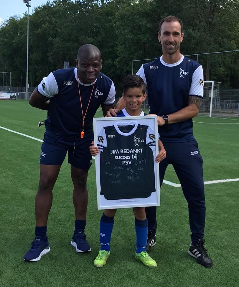 Toppertje Jim verlaat jeugdopleiding TSC voor PSV!