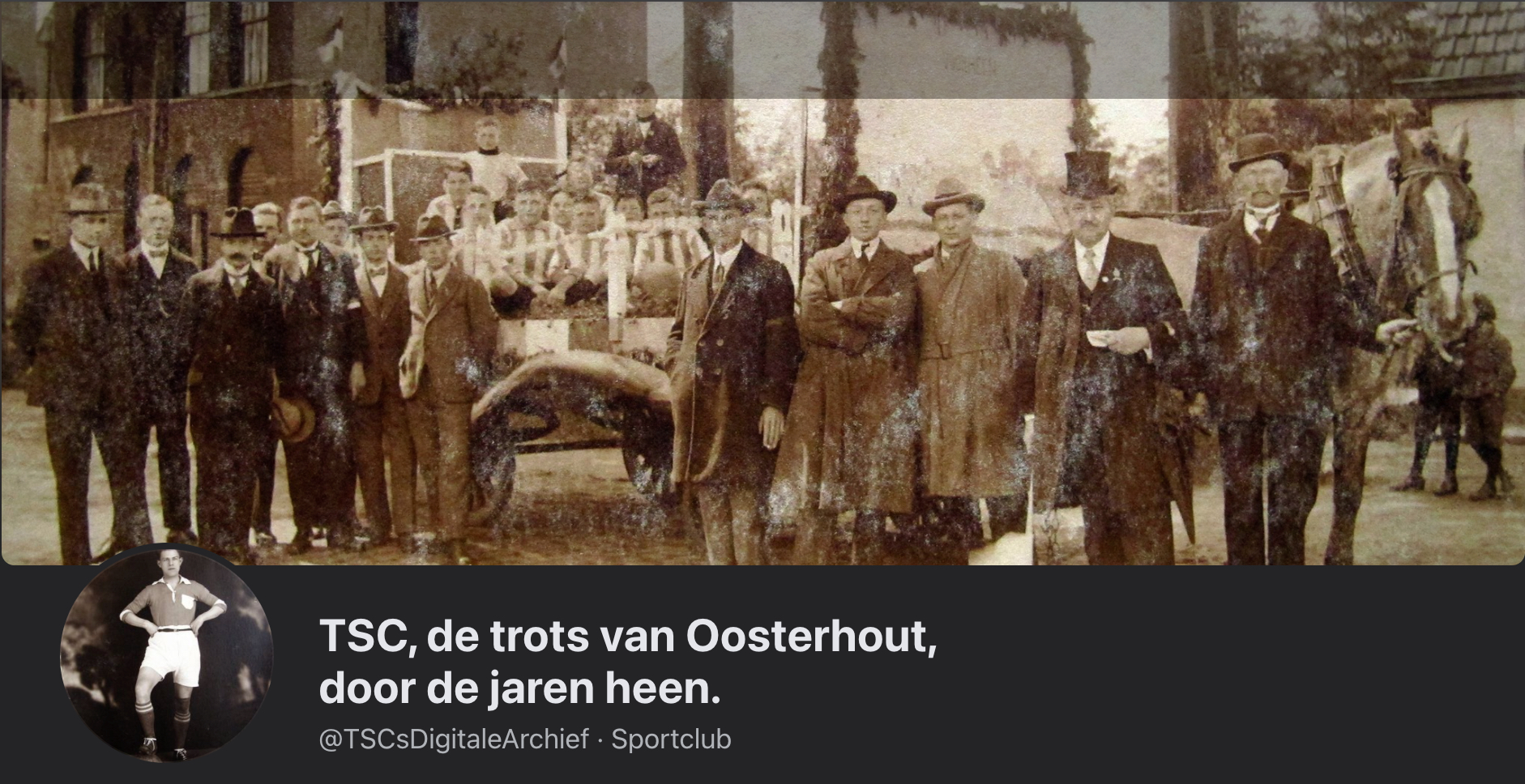 TSC, de trots van Oosterhout, door de jaren heen