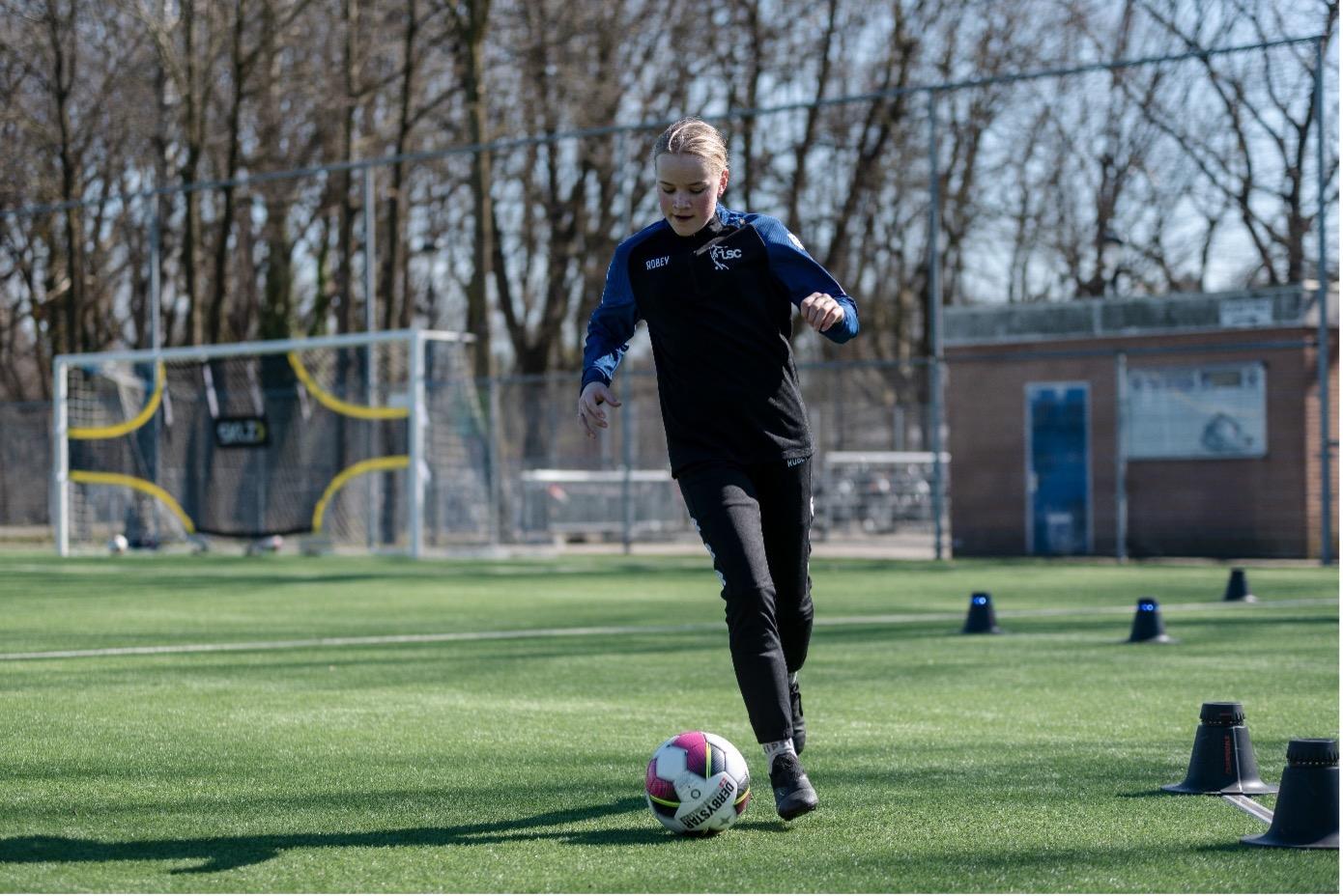 TSC voetbalclinic voor meiden een groot succes!!