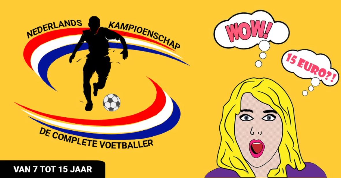 Nederlands kampioenschap &quote;De complete voetballer&quote;