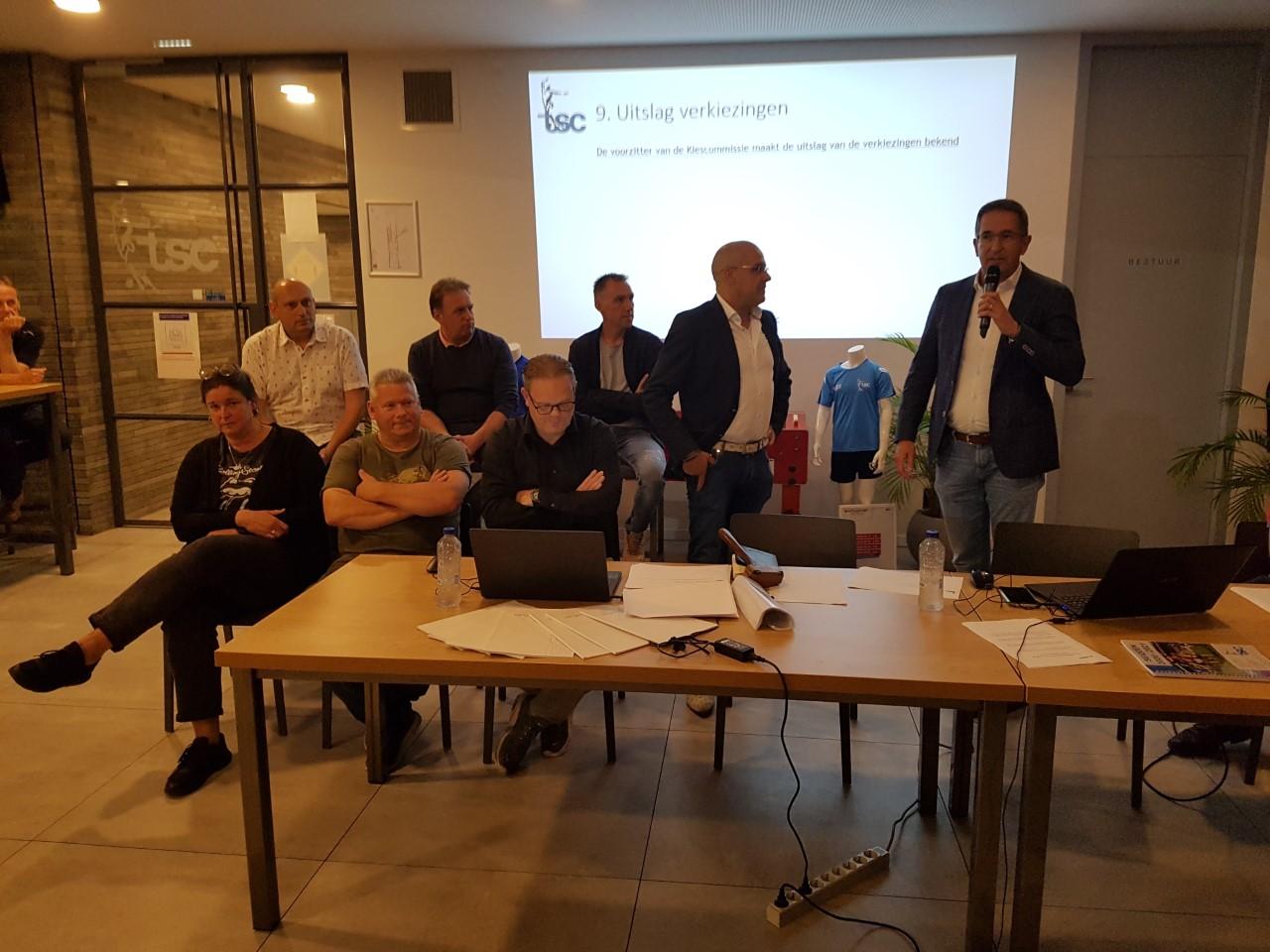 Adrie van Arendonk, nieuwe voorzitter TSC