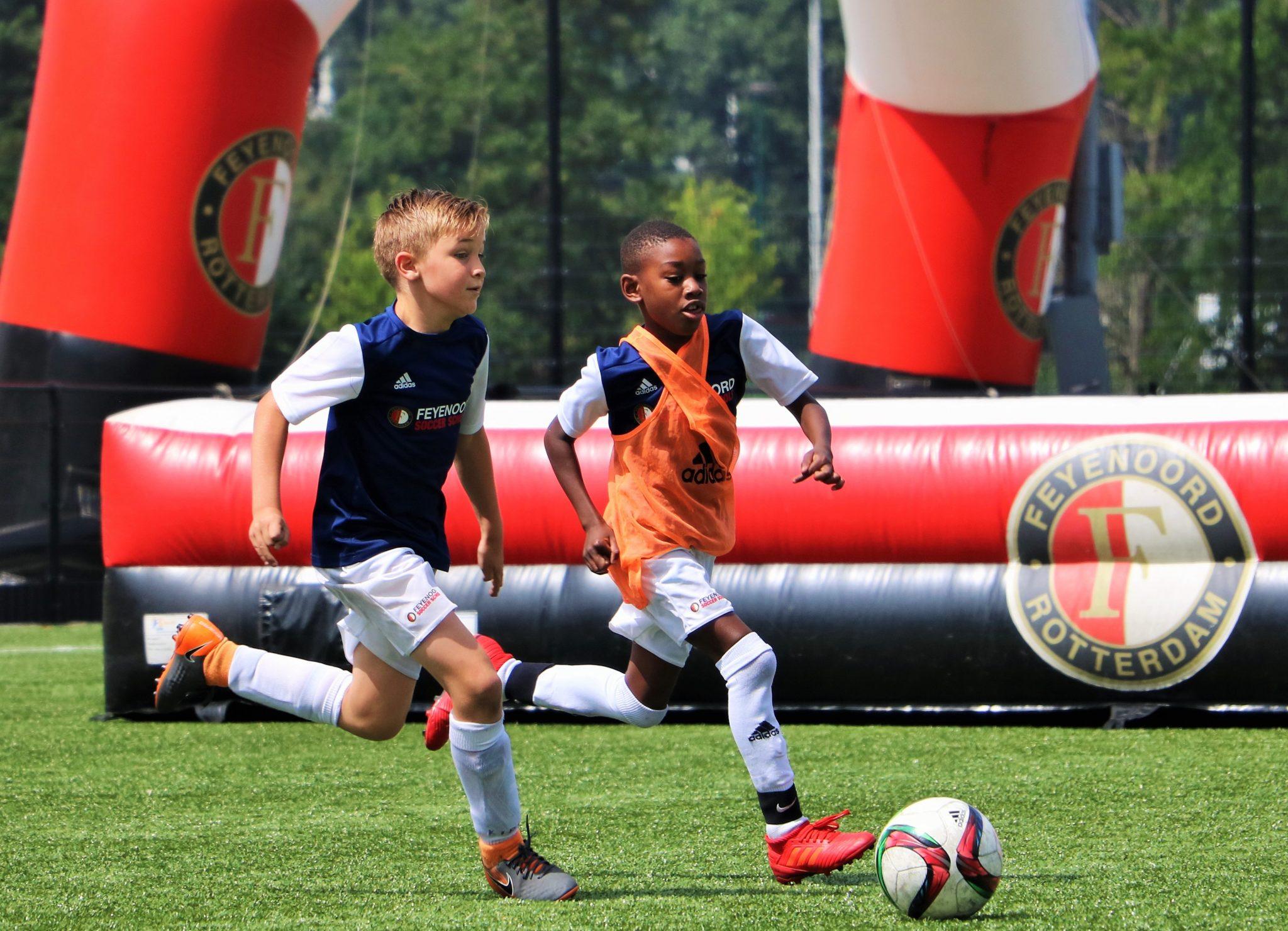 Doe mee aan het Feyenoord Soccer Camp bij TSC