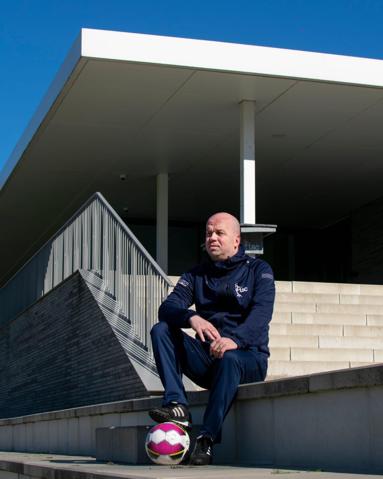 Hans Mols, nieuwe trainer TSC Vrouwen 1