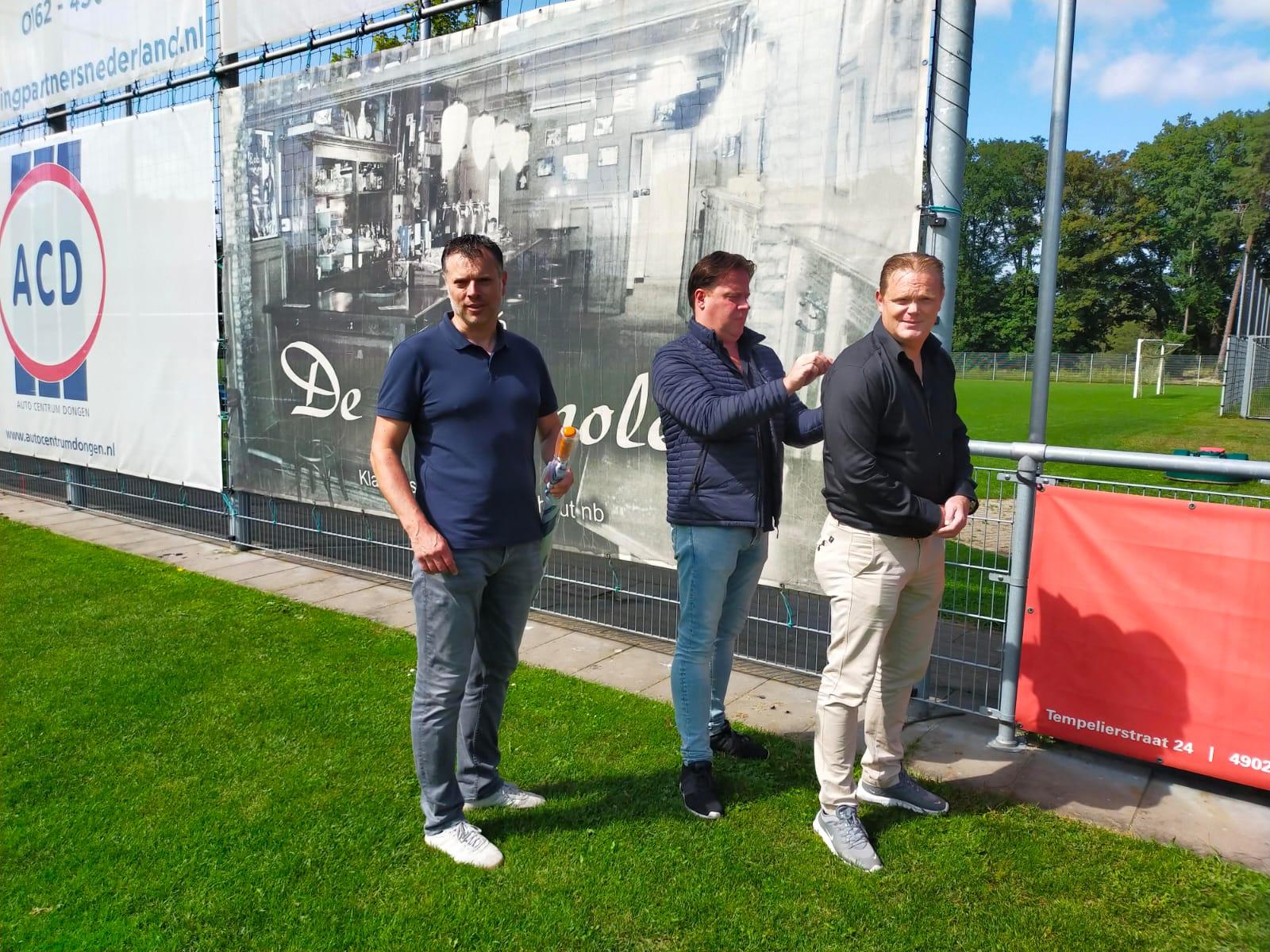 Café de Stapmolen verlengt sponsorschap TSC