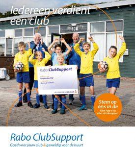 Steun TSC via de Rabo Club Support